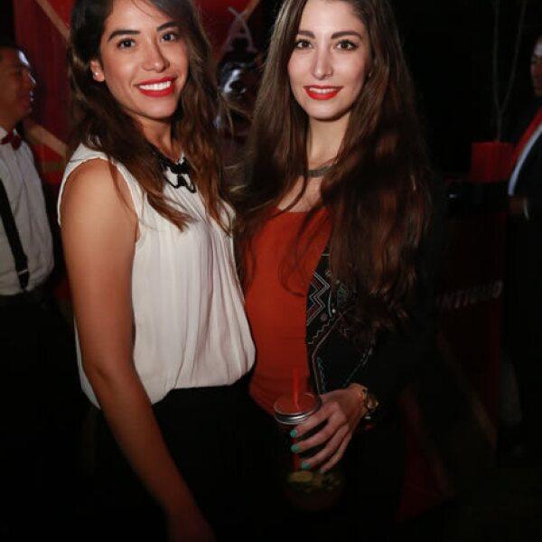 Carolina Reséndiz y Cynthia González