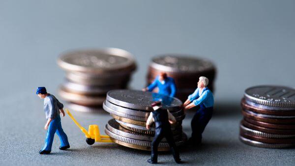 Salarios monedas