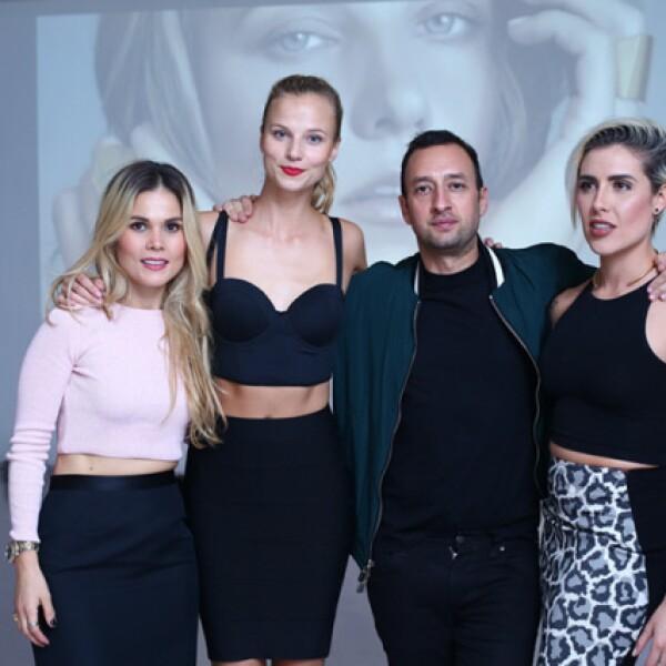 Mariana Estrada, Nadia Murgasova, Fernando Marroquín y Antonieta Fernández