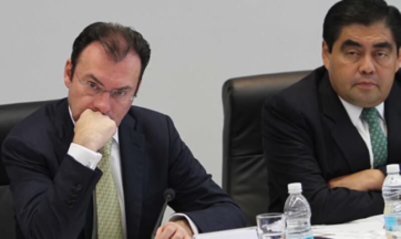 Videgaray destacó las medidas propuestas en el propuesta de paquete económico. (Foto: Notimex)