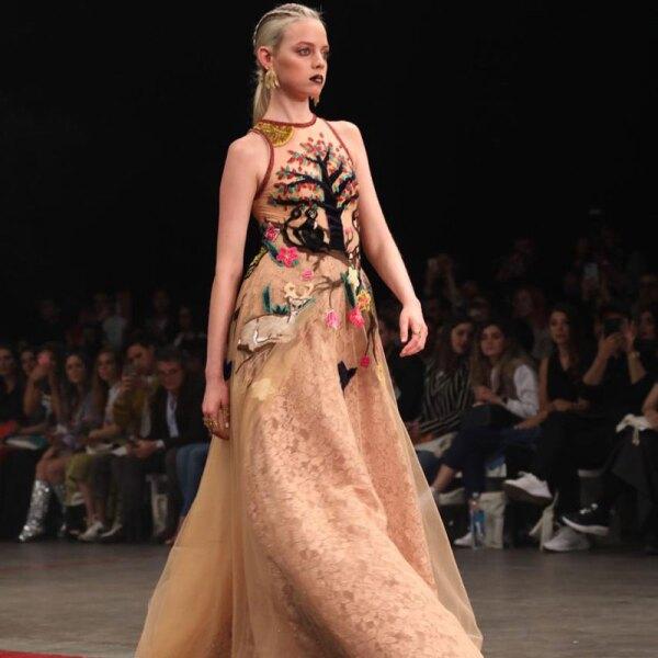 Vero-Diaz-MBFWMx-Runway-Nude-Dress