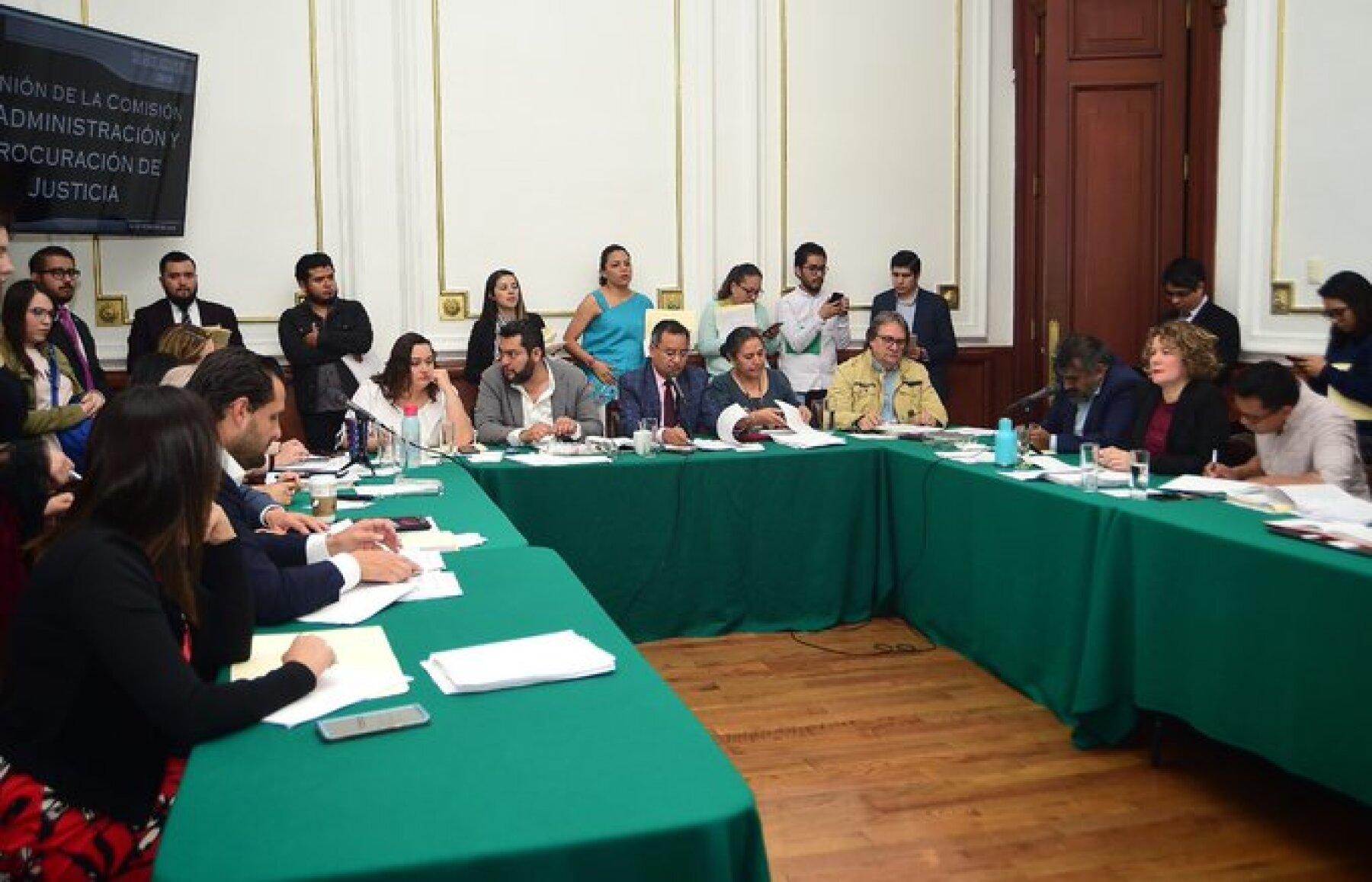 Comisión de Administración y Procuración de Justicia