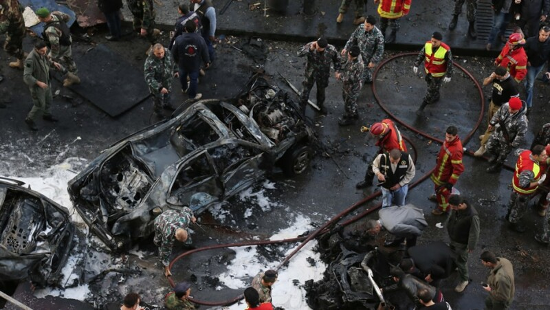 ataque, carro bomba, explosion, exministro, exembajador, libano, estados unidos, hezbollah, siria, bachar al asad
