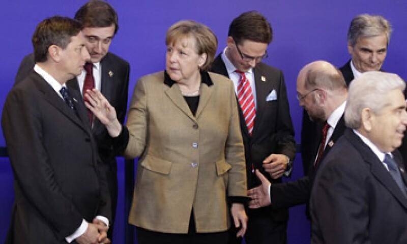La reunión de los líderes se centrará en buscar medidas para impulsar el crecimiento y el empleo en Europa. (Foto: AP)
