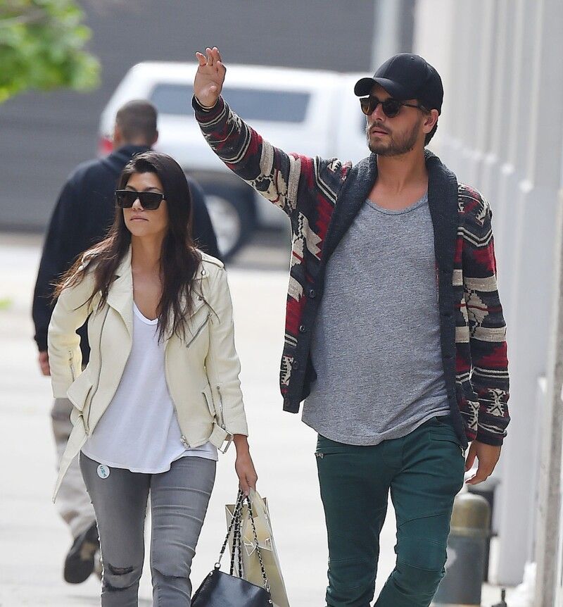 Kourtney Kardashian y Scott Disick