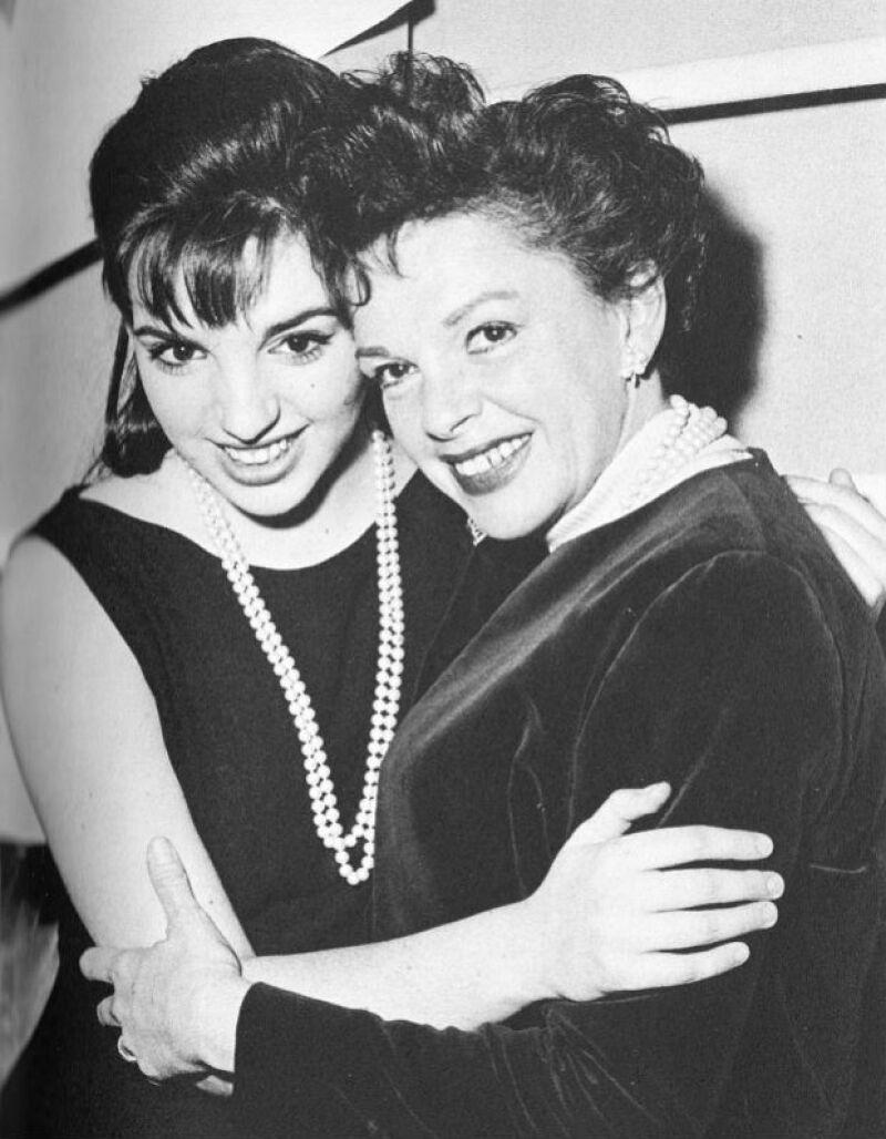 Liza y Judy son dos iconos del cine, además eran inseparables.