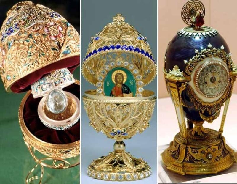 Los huevos de pascua Fabergé son un símbolo de lujo de la antigua Rusia.