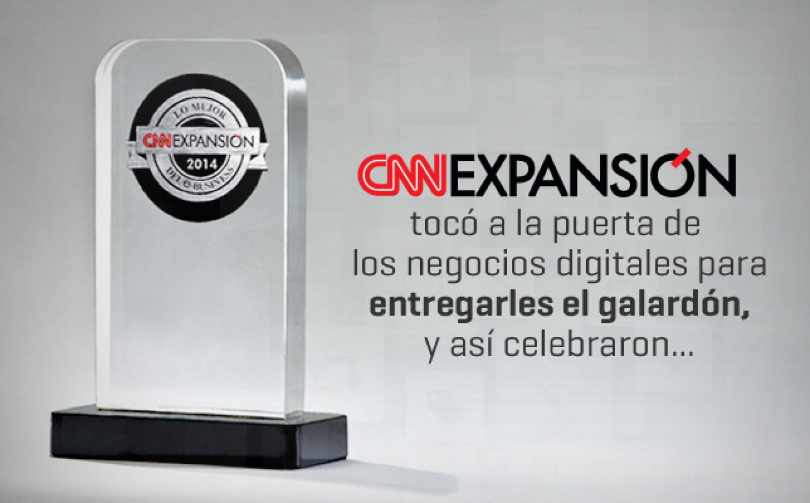 El miércoles 12 de noviembre CNNExpansión entregó el premio a los mejores e-business. . Un jurado y un Consejo Consultivo se encargaron de seleccionar a los triunfadores y de vigilar el proceso.
