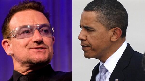 El cantante y el presidente de Estados Unidos se reunieron en la Oficina Oval de la Casa Blanca, para intercambiar ideas sobre la promoción del desarrollo social y el crecimiento económico en África.