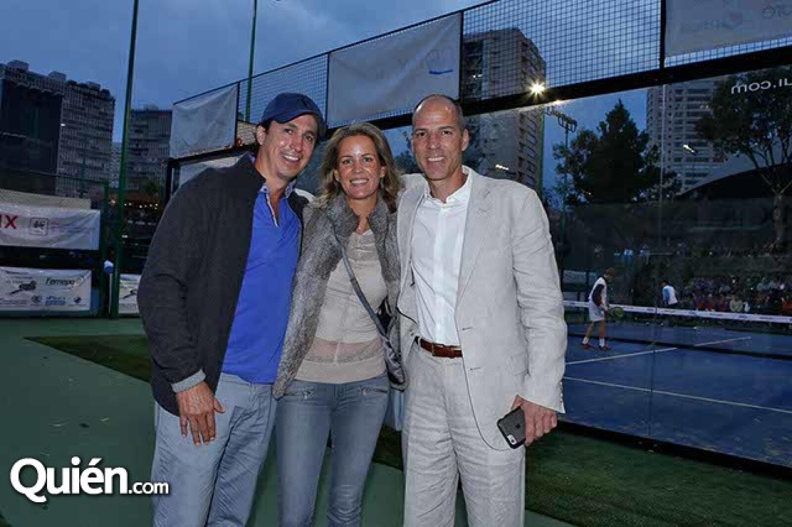 Rolf Schlettwein,Jacqueline Beristain y José Luis García Frapolli