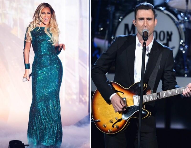 A pesar del éxito que tuvo Beyoncé con su gira, quedó en sexto lugar. Maroon 5, después de ella.