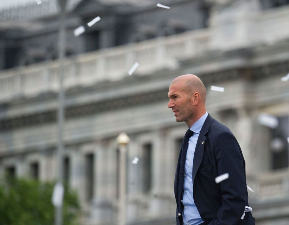 Zidane, el mejor técnico del mundo según las estadísticas