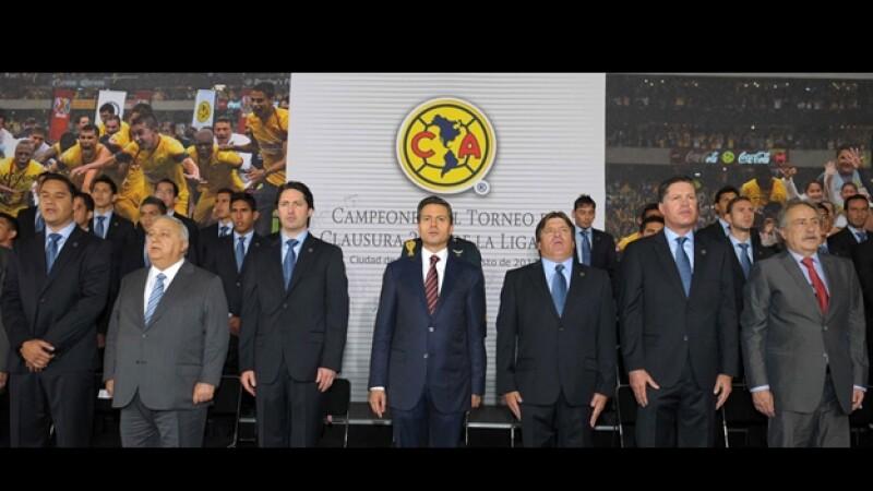 visita America Los Pinos Enrique Peña Nieto