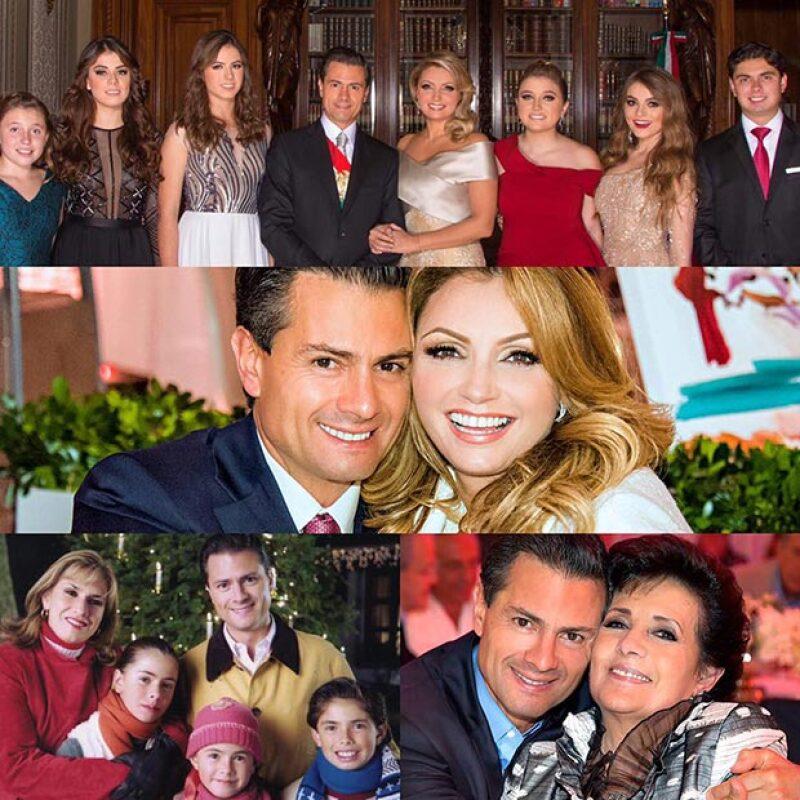 El presidente de México y su esposa utilizaron sus redes sociales para felicitar a sus mamás y a las madres mexicanas por su día.