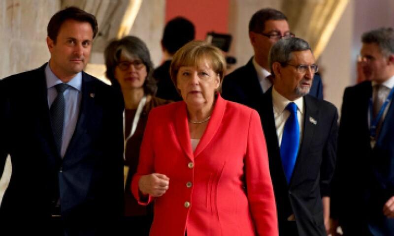 Líderes europeos, durante la reunión en Malta este jueves. (Foto: Getty Images)