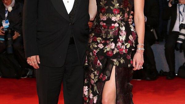 Johnny Depp y Amber Heard. La pareja se hizo presente para el estreno de Black Mass.