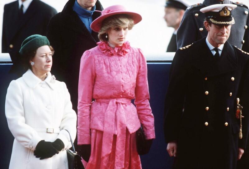 Princesa Margarita, Diana de Gales y príncipe Carlos
