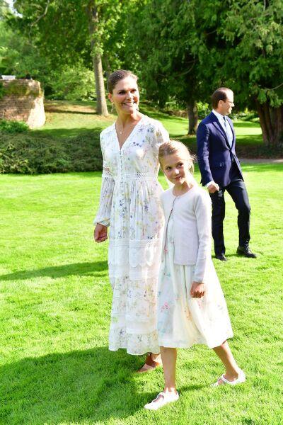 Victoria, Crown Princess of Sweden birthday celebrations, Solliden Palace, Borgholm, Sweden - 14 Jul 2020
