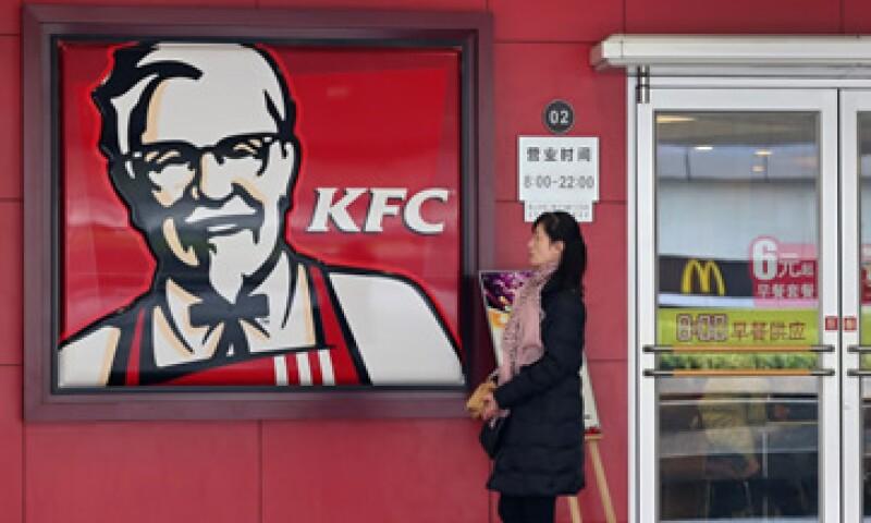 La mayoría de las tiendas de la firma de Yum en China son restaurantes de KFC. (Foto: Reuters)