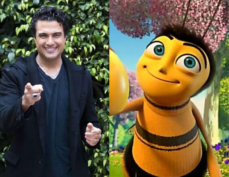 El esposo de Heidi Balvanera dijo haberse divertido mucho con la experiencia de dar su voz a la tierna abeja Barry.