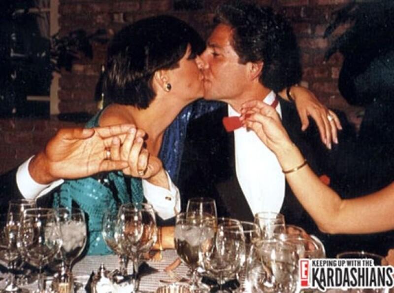 Kris durante su matrimonio con Robert Kardashian.