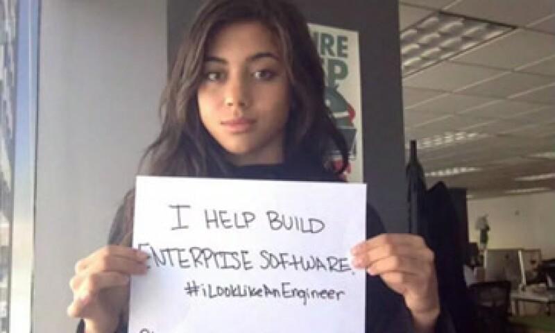 Isis Anchalee se volvió famosa por activar una campaña contra los estereotipos de los ingenieros a través de su página de Facebook (Foto: CNN Español )