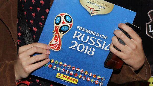 �lbum de fotos Panini del Mundial Rusia 2018