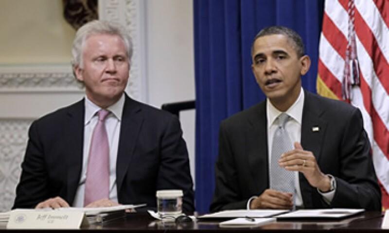Para muchos, el nombramiento de Immelt por el presidente Obama representa puro capitalismo de 'compadres'. (Foto: AP)