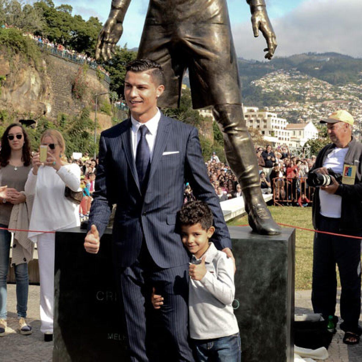 """El """"enorme atributo"""" de Cristiano Ronaldo roba la atención en Twitter"""