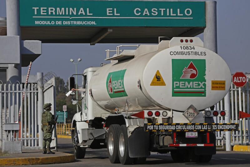 Terminal de distribución de Pemex