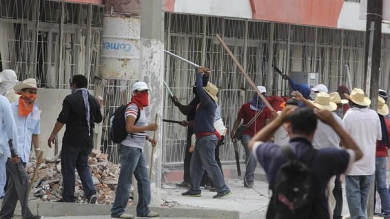Maestros disidentes de Guerrero