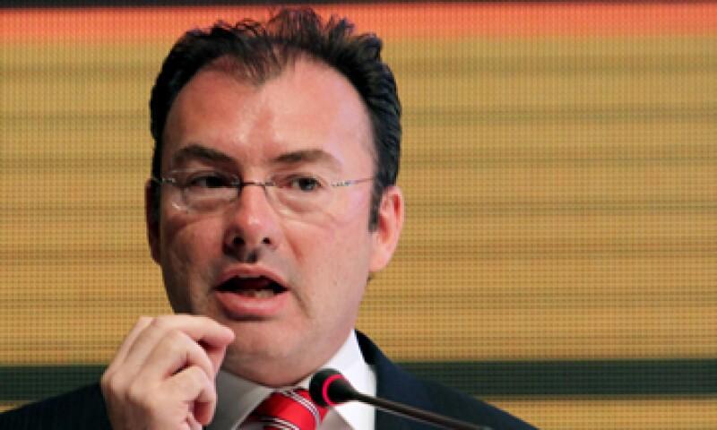 En su caso se rebajará el pronóstico de crecimiento de la economía, dijo Videgaray. (Foto: Notimex)