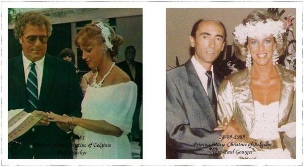 Paul Drake y la princesa Marie-Christine; Jean-Paul Gourgues y la princesa Marie-Christine