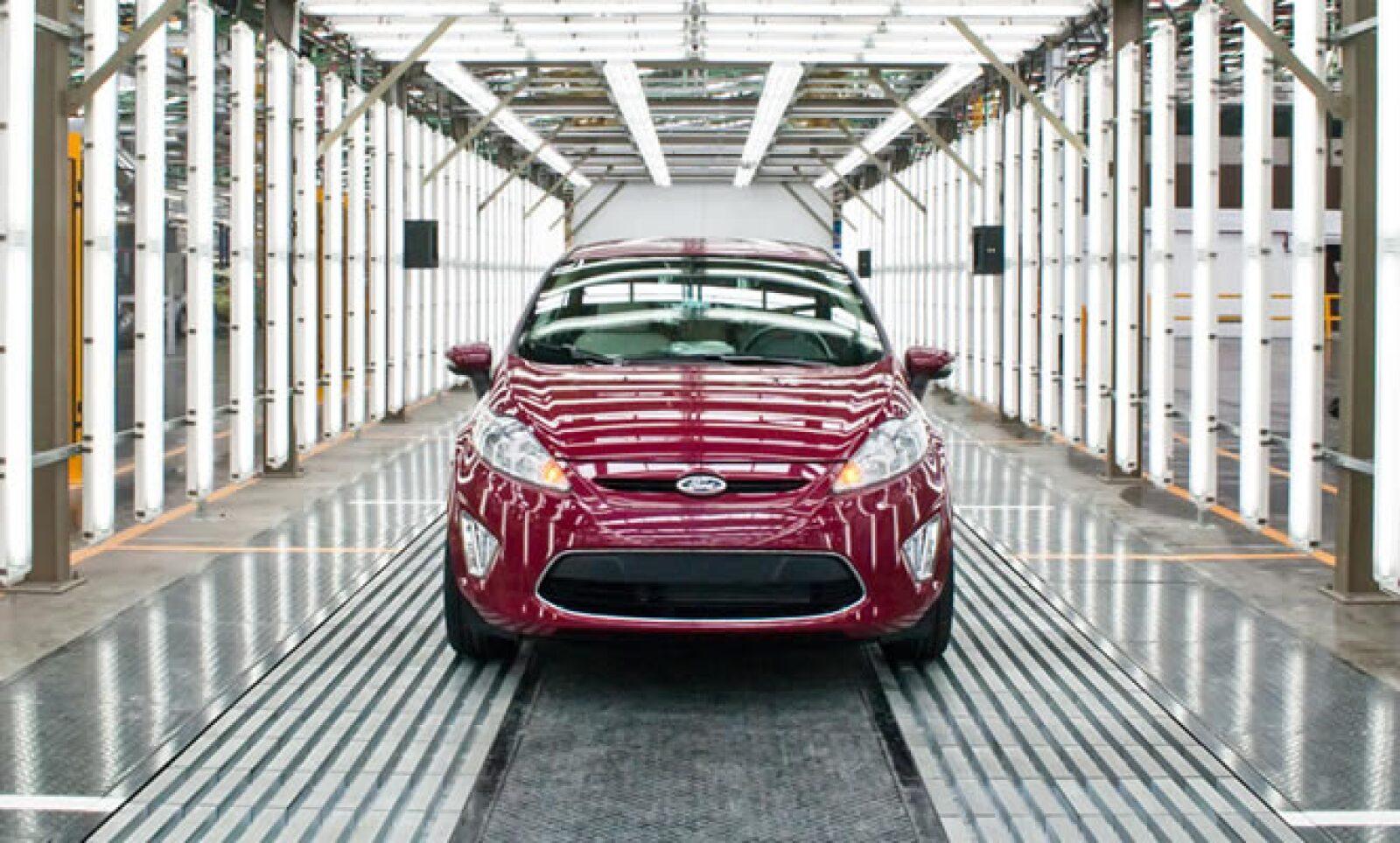 Ford de México celebra este viernes la producción de la unidad 150,000 del modelo Fiesta en la Planta de Estampado y Ensamble de Cuautitlán.