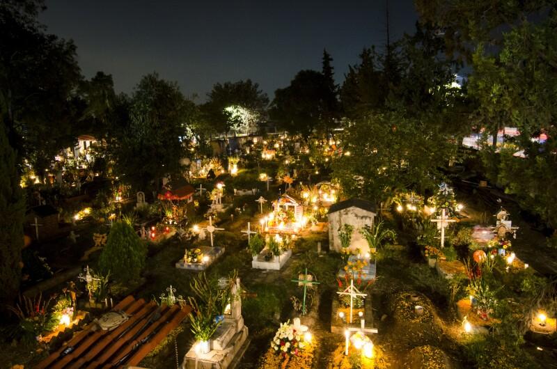Day of the Dead Celebration in Xochimilco