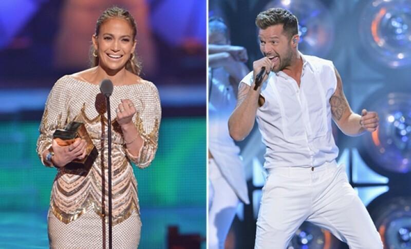 En el corazón de Miami esta noche se llevó a cabo la entrega de premios en la que JLo conmovió un un discurso de agradecimiento y Ricky Martin, deleitó a sus fans con su animada presentación.