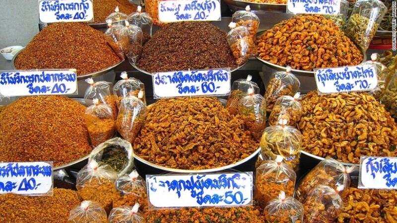 Mercado Or Tor Kor, Bangkok, Tailandia