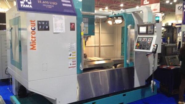 En Fama, encontraron lo m�s reciente en centros de maquinado.