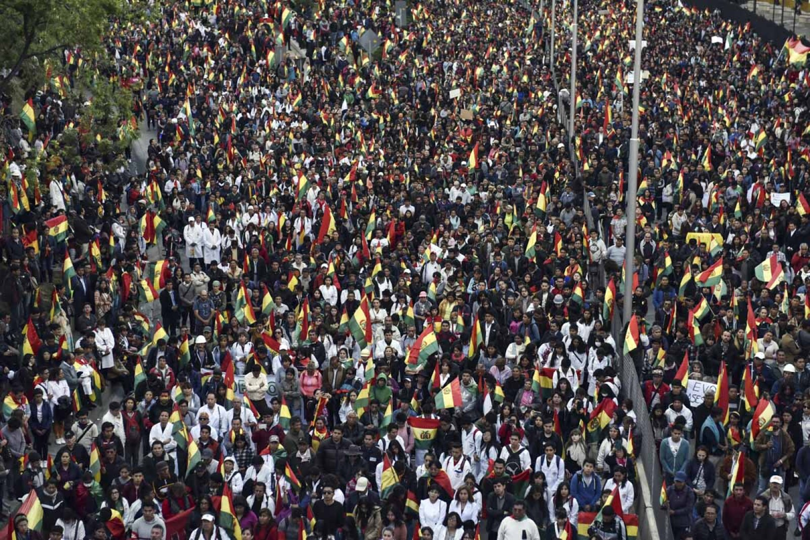 BOLIVIA-ELECTION-RESULTS-PROTEST