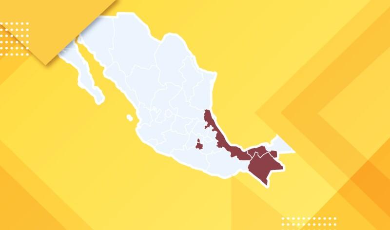 Estados gobernados por Morena