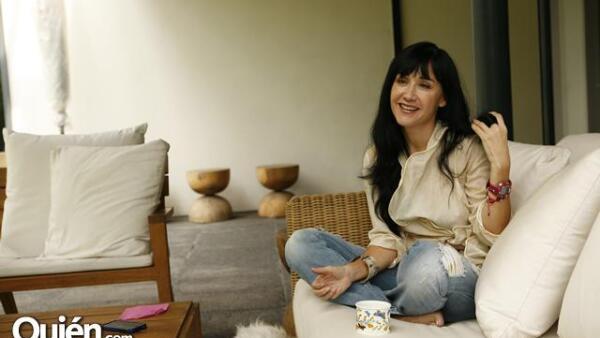 Susana Zabaleta además de ser una artista completa que canta, actúa y conduce, es una mujer totalmente realizada en el ámbito personal, lo que la hace sentirse muy feliz.