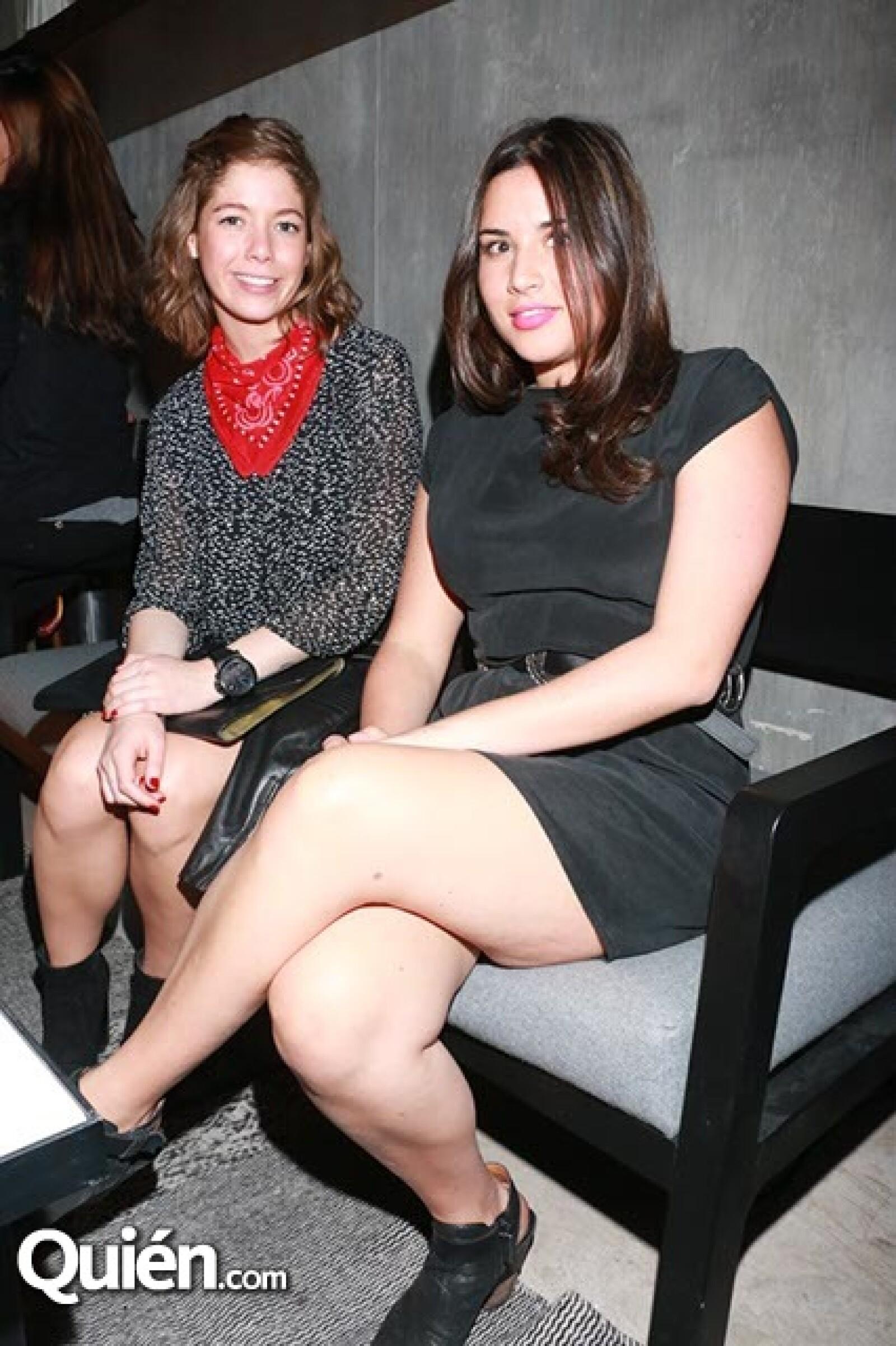 Sofía Payro y María Hinojosa