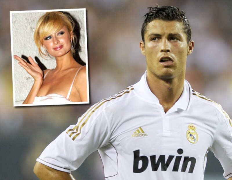 Cristiano Ronaldo negó que hubiera tenido un romance con Paris Hilton.