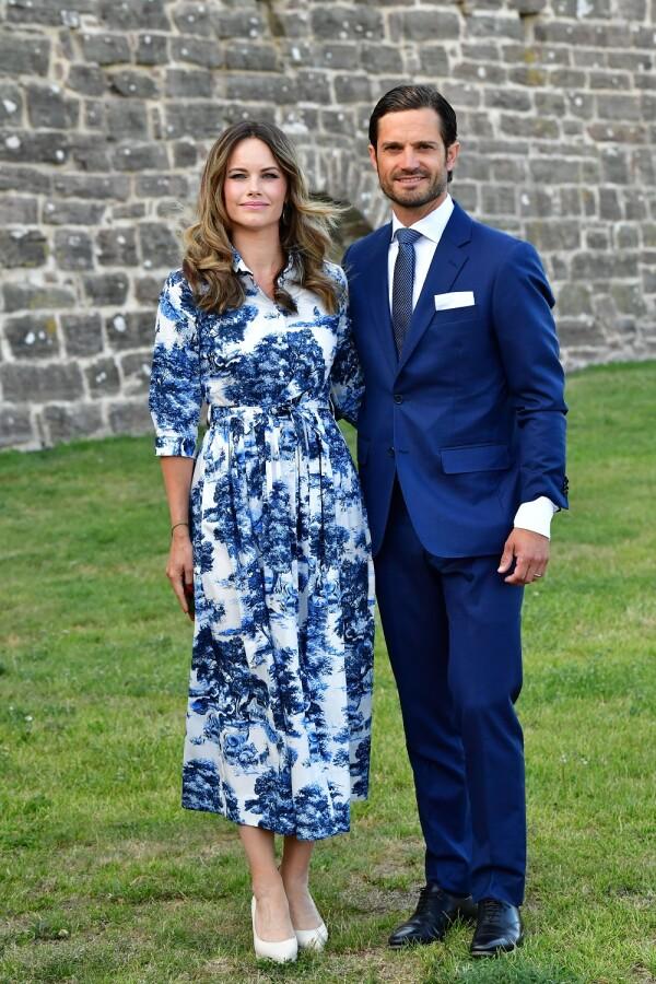 Princesa Sofía y el príncipe Carlos Felipe