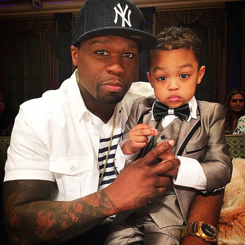 Todo indica que el hijo de dos años del rapero ha iniciado con el pie derecho su salto a la fama y es que, a su corta edad, le pagarán miles de dólares por modelar.