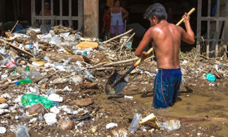 En materia de vivienda, Acapulco fue una de las zonas más afectadas, dijo la Sedatu. (Foto: Notimex)