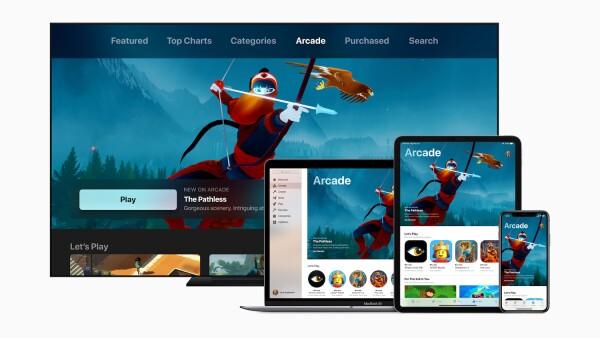 Apple  busca crear una apuesta fuerte en el mercado de gaming