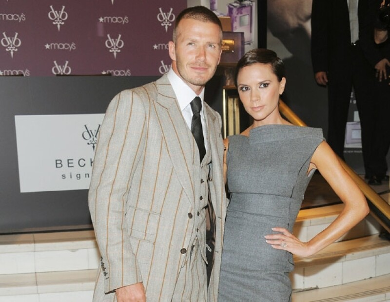 David y Victoria Beckham son de las parejas más famosas del mundo.