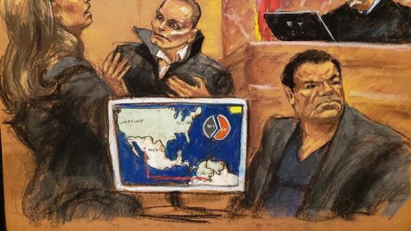 Chupeta juicio contra Chapo Guzmán
