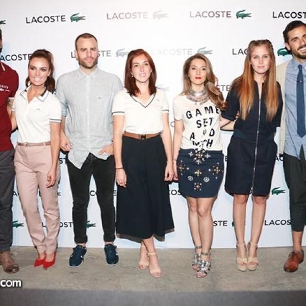 Uriel del Toro, Mariana Torres, Max Villegas, Natalia Fernández, Patricia Valiente, Natasha Dupeyrón y José Pablo Minor